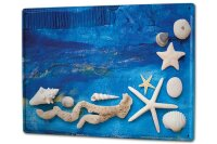 Tin Sign XXL Oceans Beach decoration