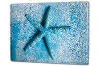 Tin Sign XXL Fun Starfish