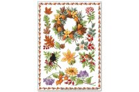 Fridge Magnet Fun Kitchen Lindner autumn plants