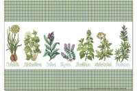 Fridge Magnet Flora Floral Lindner herbal Cure