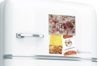 Fridge Magnet Flora Floral Rose