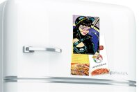 Fridge Magnet Pin Up Adult Art FeliX astronaut space