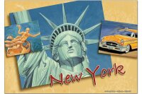 Fridge Magnet City G. Huber New York