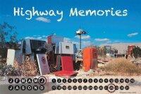 Perpetual Calendar Vintage Car G. Huber Highway Memories...