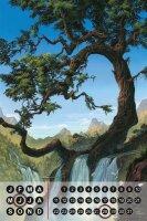 Perpetual Calendar Feng Shui Picture G. Huber River tree...