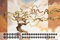 Perpetual Calendar Feng Shui Picture G. Huber Energy tree...
