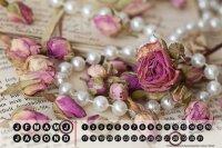 Perpetual Calendar Flora Floral Rose Tin Metal Magnetic