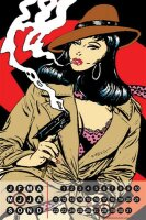 Perpetual Calendar Sexy Girl FeliX Pin Up Secret Agent...