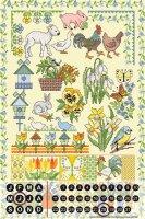 Perpetual Calendar rative Vet Practice Lindner spring...