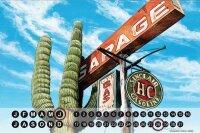 Perpetual Calendar Holiday Travel Agency G. Huber cactus...