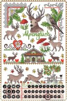 Perpetual Calendar Holiday Travel Agency Lindner Alpine...