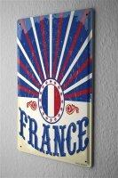 Tin Sign Holiday Travel Agency france