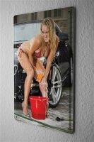 Tin Sign Sexy Fun Ravtive Carwash