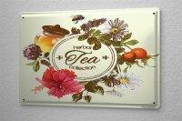 Tin Sign Nostalgic Herbal tea