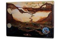 Tin Sign XXL Gothic Krakowski Moon Earth Space Dream...