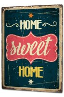 Tin Sign XXL Fun Sweet Home