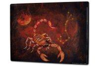 Tin Sign XXL Horoscope Krakowski Scorpio Zodiac