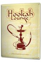 Tin Sign XXL Bar Restaurant Hookah Lounge