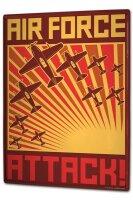 Tin Sign XXL Retro Air force