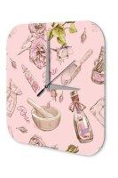 Wall Clock Fun Kitchen Decoration Rose perfume Acryl...
