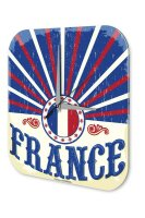 Wall Clock Holiday Travel Agency france Plexiglass