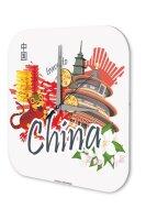 Wall Clock Holiday Travel Agency China Plexiglass