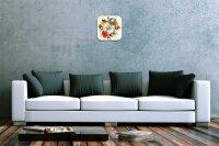 Wall Clock Nostalgic Decoration Herbal tea Acryl Plexiglass