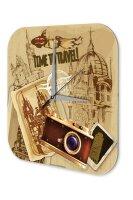 Wall Clock Holiday Travel Agency Europe travel Plexiglass