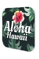 Wall Clock Holiday Travel Agency Hawaii Aloha Acrylglass