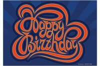 Fridge Magnet Greeting Card Happy birthday