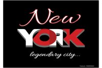 Fridge Magnet City New York