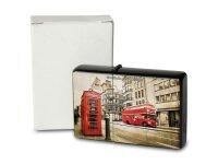Pocket Windproof Lighter Brushed Oil Refillable London...