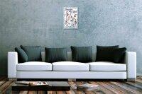 Lindner Design Blechschild Küchen Deko Ostsee Meer  Metall Wand Schild 20x30 cm