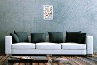 Lindner Design Blechschild Urlaub Reisebüro Deko Ostsee Fischer  20x30 cm
