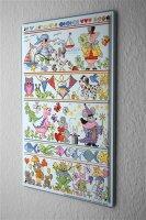 Lindner Design Tin sign nursery wall decor Fairy Tale...