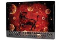 Perpetual Calendar Nostalgic Krakowski Taurus Zodiac Tin...