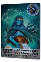 Perpetual Calendar Horoscope Krakowski Aquarius Zodiac...