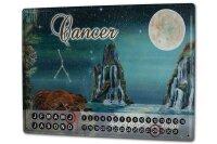 Perpetual Calendar Nostalgic Krakowski Cancer Tin Metal...