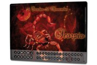 Perpetual Calendar Nostalgic Krakowski Scorpio Tin Metal...