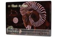 Perpetual Calendar Nostalgic Krakowski Aries Tin Metal...