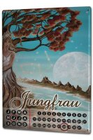 Perpetual Calendar Nostalgic Krakowski Virgo Tin Metal...