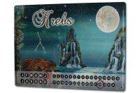 Perpetual Calendar Horoscope Krakowski cancer Tin Metal...