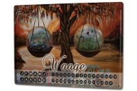 Perpetual Calendar Nostalgic Krakowski scale Tin Metal...