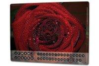 Perpetual Calendar Flora Floral Krakowski Rose Tin Metal...