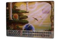 Perpetual Calendar Fun rative Krakowski Columns Tin Metal...