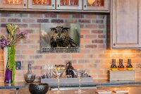 Perpetual Calendar Bird Krakowski Eagle owl Tin Metal...