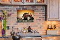 Perpetual Calendar Retro Tractor Tin Metal Magnetic