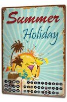 Perpetual Calendar Holiday Travel Agency Beach holiday...