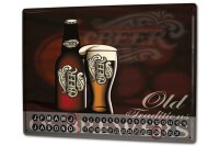Perpetual Calendar Brewery Beer Kitchen old brewery Tin...