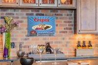 Perpetual Calendar Kitchen Crepes Tin Metal Magnetic